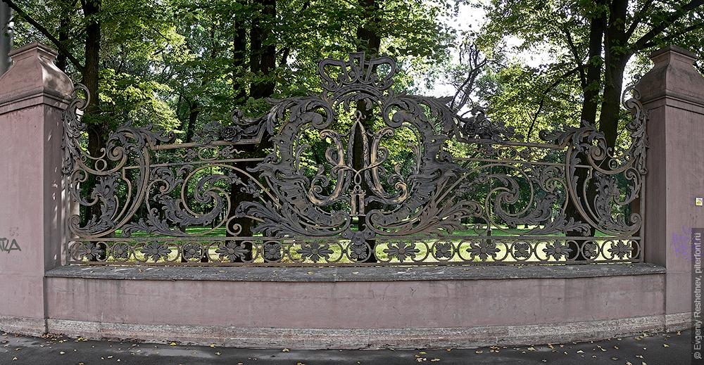 Монограмма Александра II и Николая II