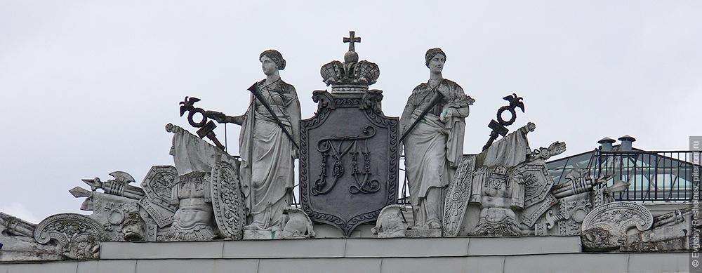 Монограмма великого князя Михаила Павловича