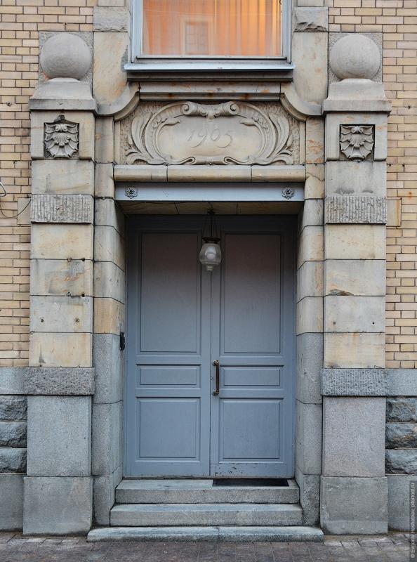 Жилой дом евангелической Шведской церкви св. Екатерины. Флигель с Екатерининским залом