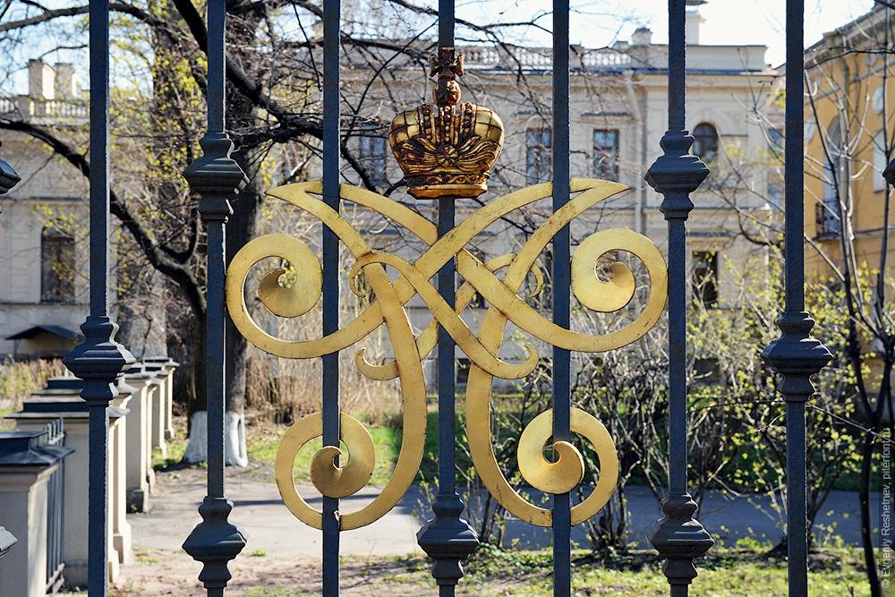 Монограмма Великого князя Алексея Александровича
